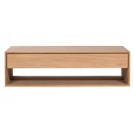 TABLE BASSE - 1 Tiroir - Chêne Nordic