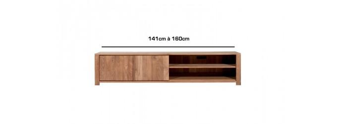De 141cm à 160cm