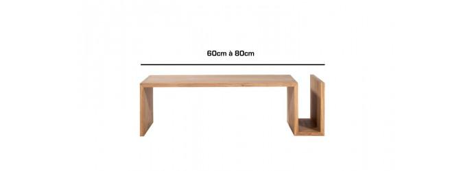 De 60cm à 80cm