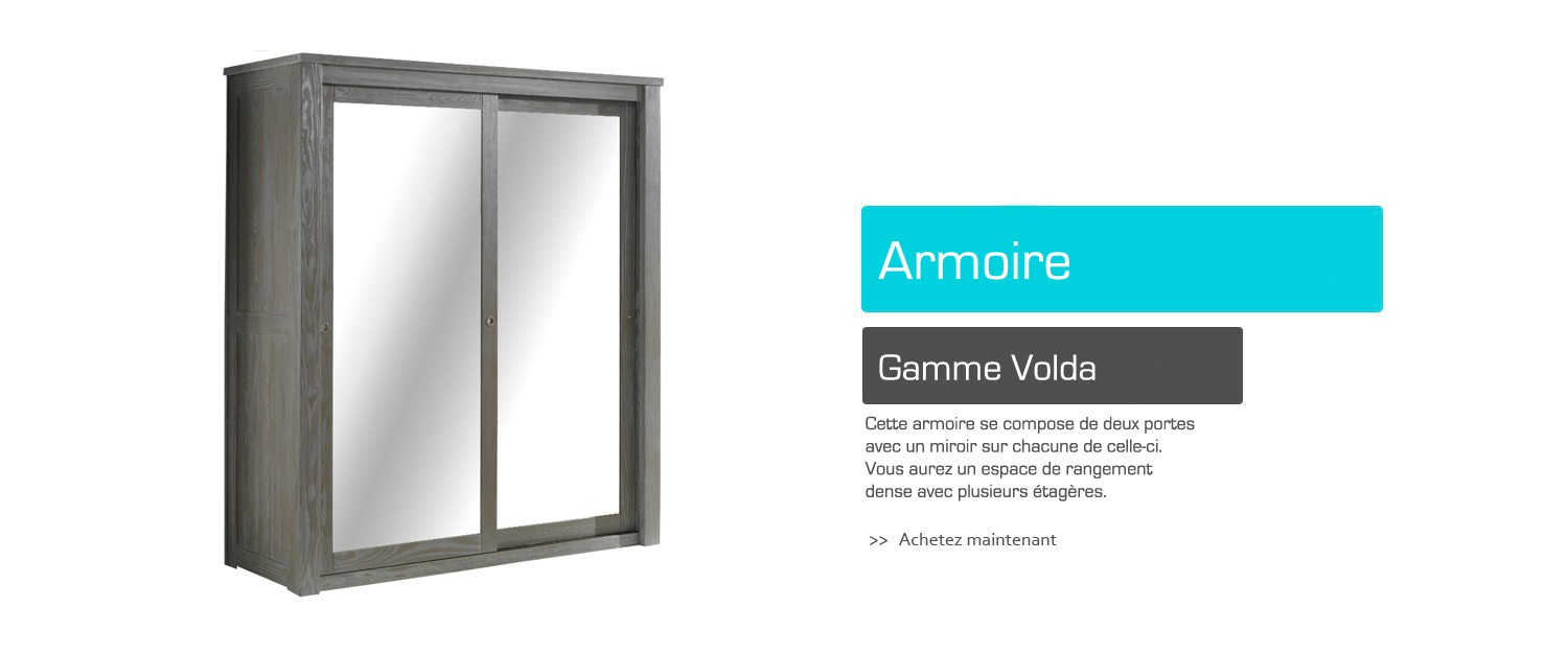 Armoire - Gamme Volda